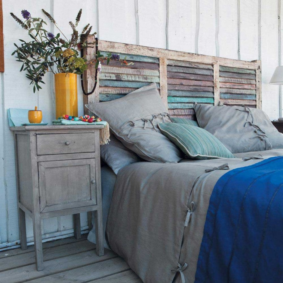 Unique One of a Kind Headboard You Can Make – Some Place ...